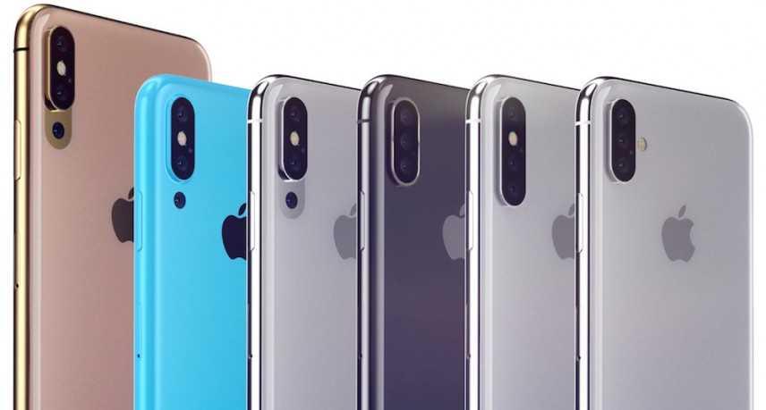 Apple, in arrivo nel 2019 tre nuovi modelli di Iphone