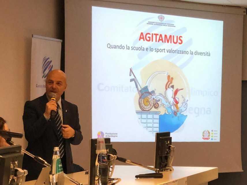 Cip Sardegna: la chiusura del progetto Agitamus a Sassari in compagnia di Gianfranco Ganau, presiden