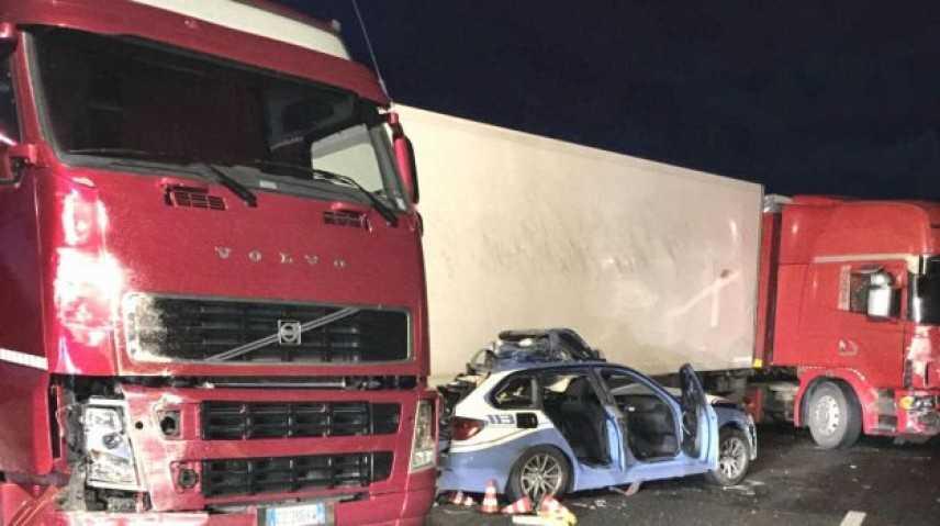 Incidenti stradali: 3 morti sulla Messina-Catania, anche un agente