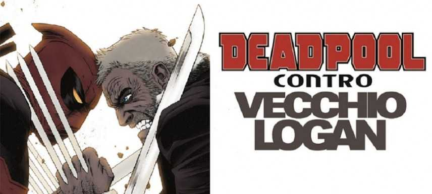 Deadpool contro l'Odl Man Logan: due anti-eroi stupefacenti