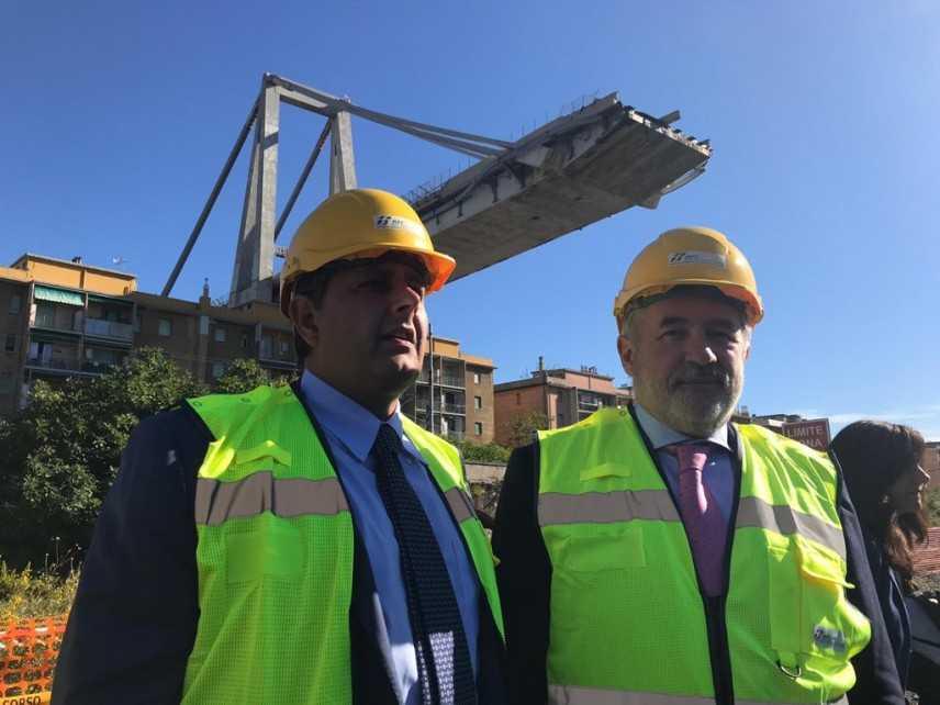 Ponte Morandi, nuova costruzione percorribile il 15 Aprile 2020