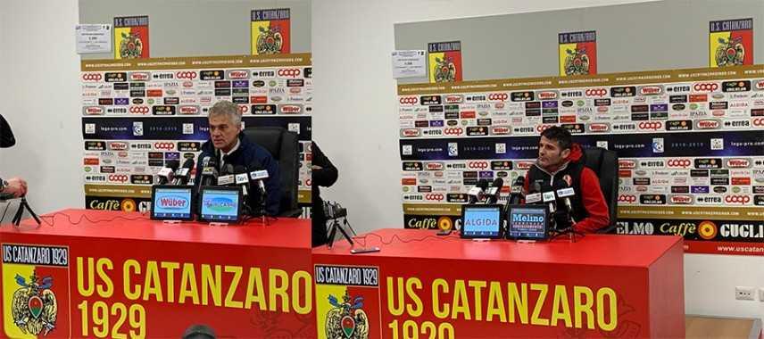Catanzaro-Rende 3-0: i commenti negli spogliatoi (Video)
