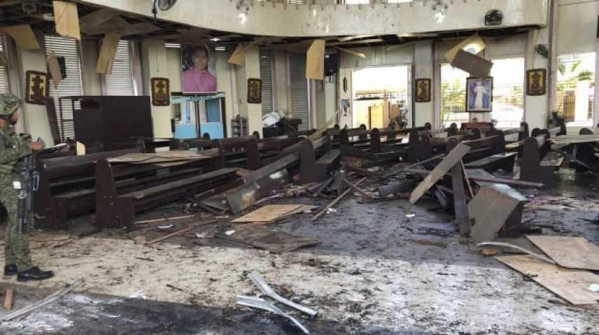 Filippine: bilancio attentato sale a 27 morti e 77 feriti