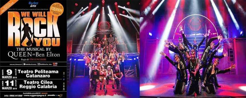 Fatti di musica festival: prima assoluta in Calabria Di We Will Rock You, il musical dei Queen
