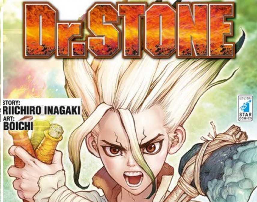 Dr. Stone successo editoriale orientale in Italia con Star Comics