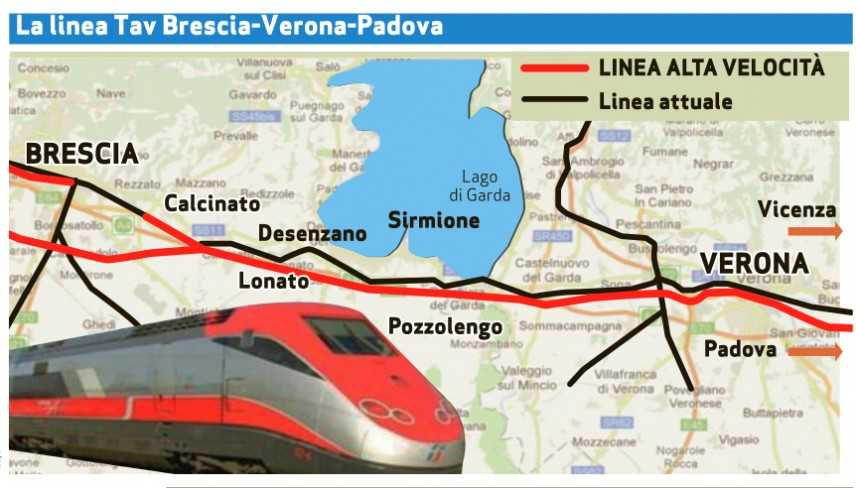 "Tav: Centinaio a M5s, Brescia-Verona ""serve e va realizzata"""