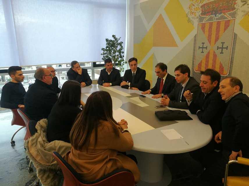 Presidente della Provincia Abramo, Catanzaro e Lamezia insieme per discutere di sviluppo del territo