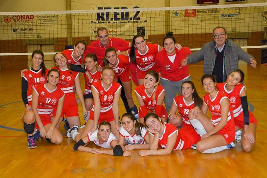 Volley Serie C: Sconfitta nel derby casalingo la Flamigni Kelematica