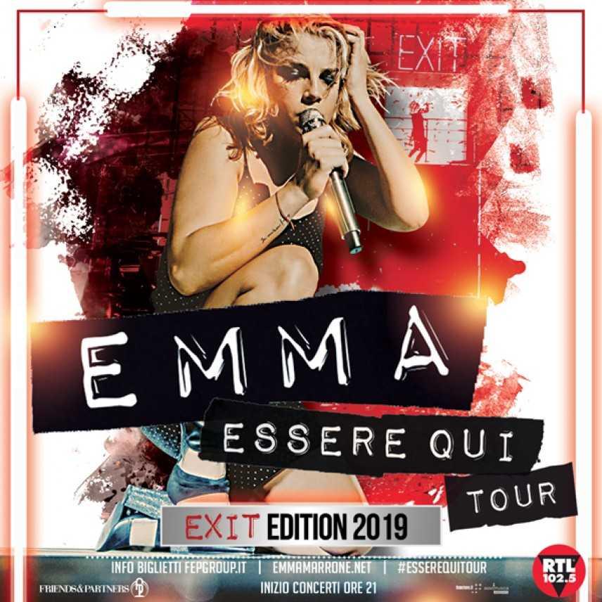 Countdown per Emma Marrone 16 febbraio Palacalafiore di Reggio Calabria