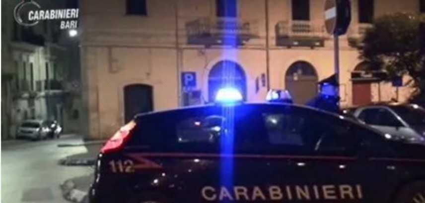 Arresti per estorsione operate dai carabinieri a Bitonto