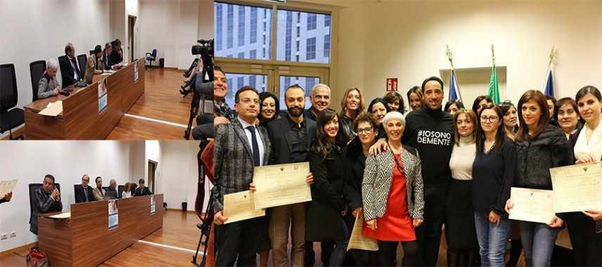 Orgoglio ed emozione per gli attestati ai primi Teci Terapeuti d'Italia