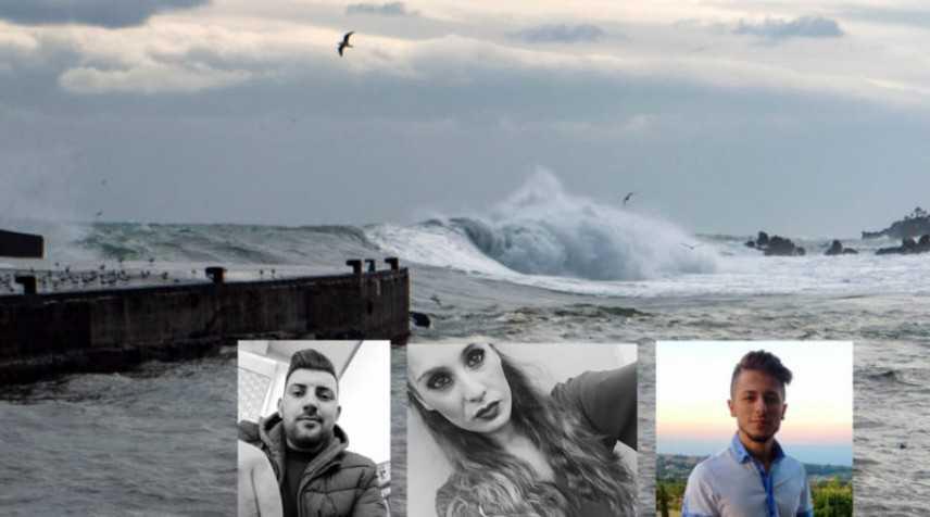 Maltempo nel Catanese: il mare restituisce i corpi di due dei tre giovani dispersi