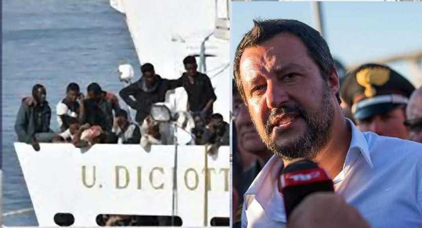 Diciotti: Senato dice no processo a Salvini, 237 voti