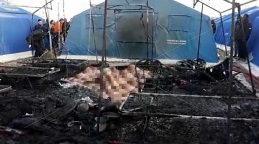 Nuova tragedia, Incendio in nuova tendopoli San Ferdinando, un morto