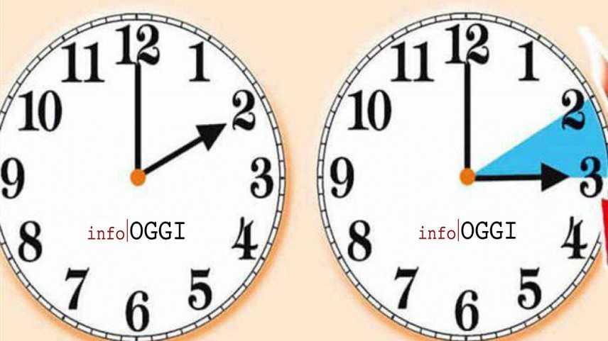 Ora legale 2019: torna sabato notte, domenica si dorme un'ora in meno