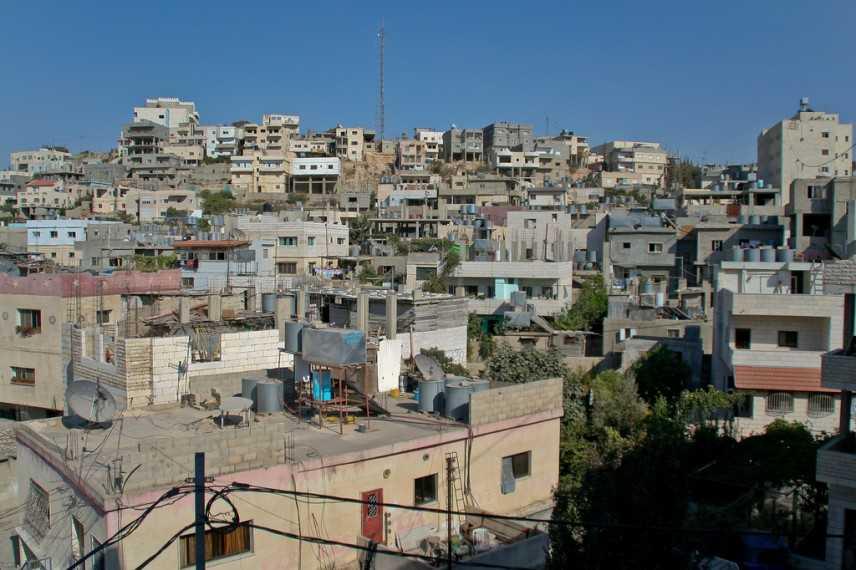 I campi profughi di Betlemme