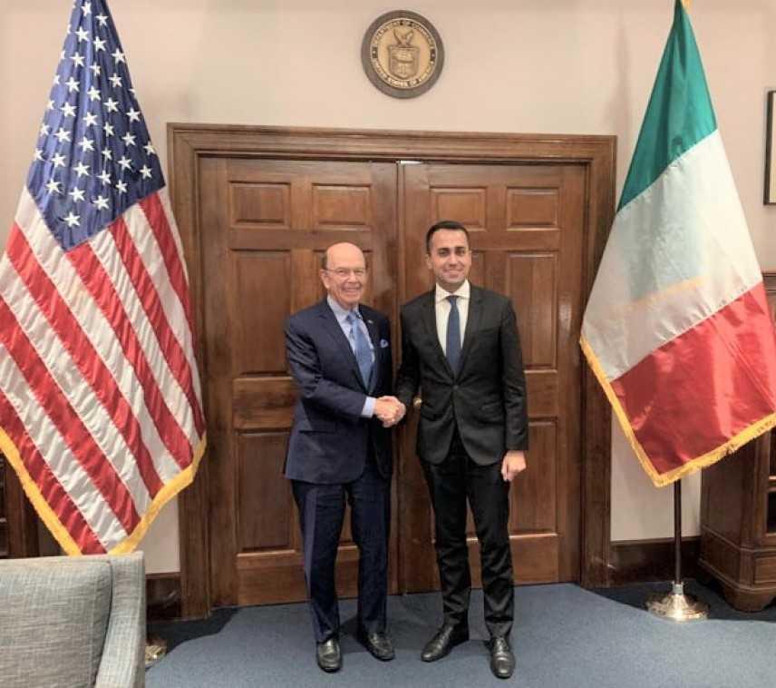 Italia-Usa: Di Maio, alleanza solida, collaborazione fondamentale - Video