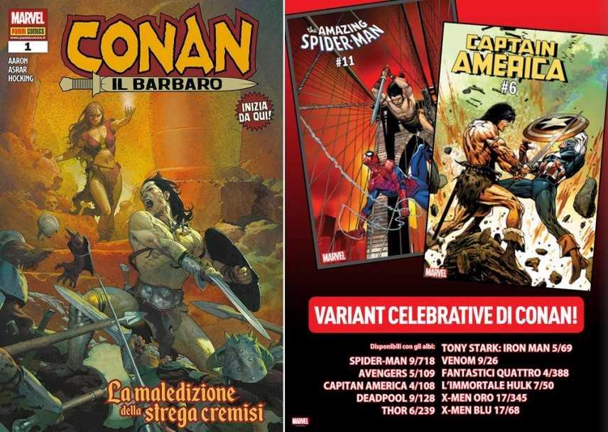 Nuovo n. 1 di Conan il Barbaro in casa Panini