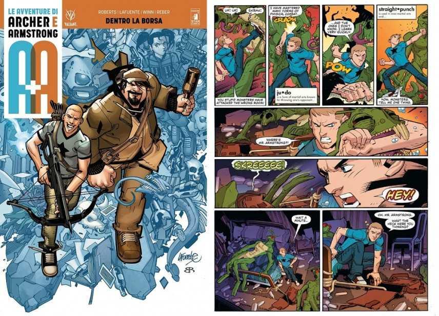 """""""A+A"""" con Star Comics il reborn di Archer & Armstrong"""