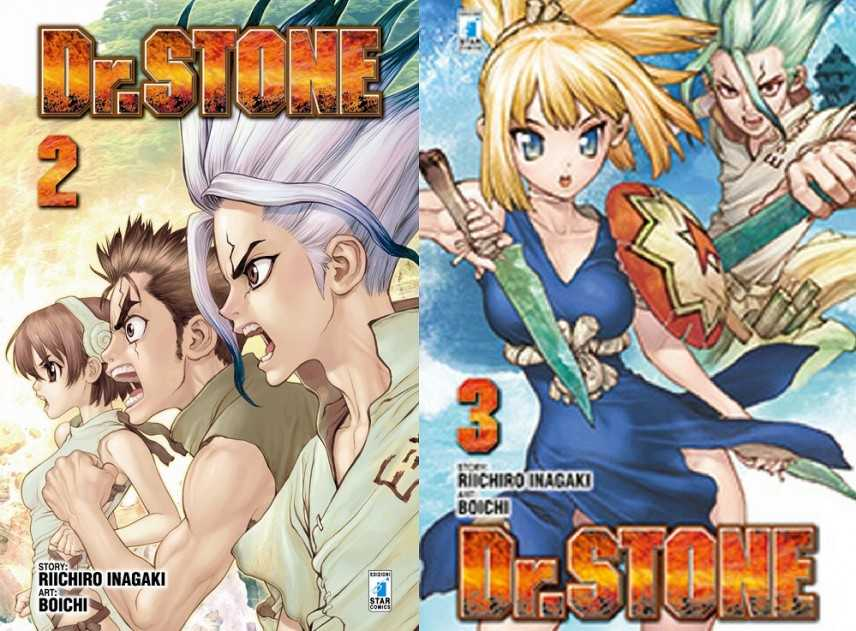 Survival fiction alla Star Comics con il Dr. Stone