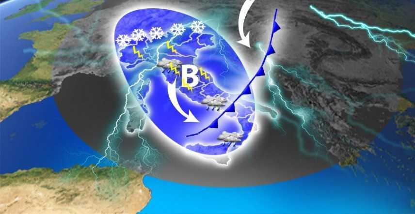 Meteo: Weekend delle Palme, vortice polare, previsioni su Nord, Centro, Sud e Isole