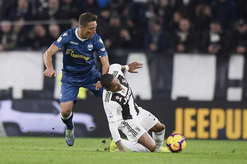 La Juventus perde contro la Spal, rinviata festa scudetto