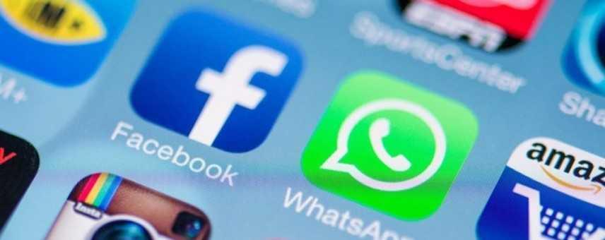 Internet. Facebook, Instagram e Whatsapp,  Social bloccati per molti utenti