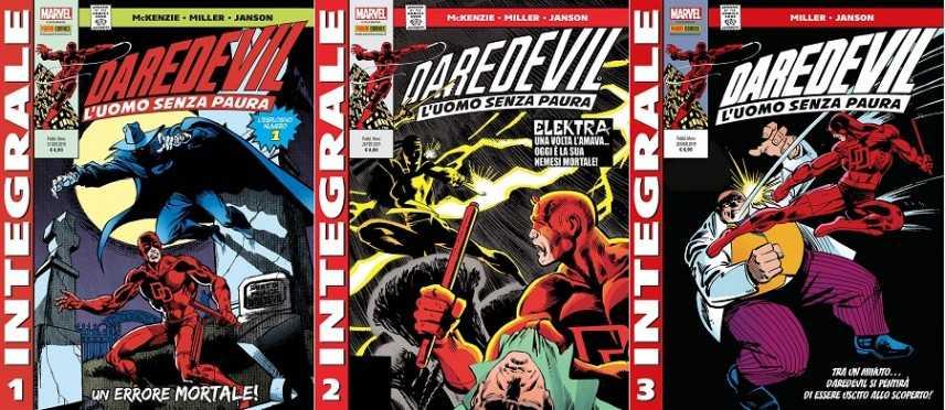 Il Daredevil di Frank Miller nell'integrale Panini