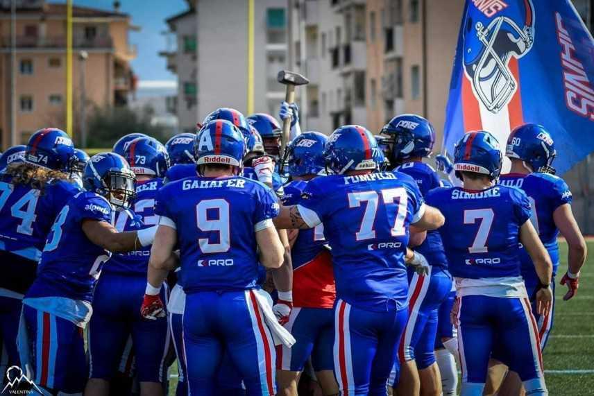 FIDAF.  I Giants a Belgrado per la semifinale di Cefl Cup