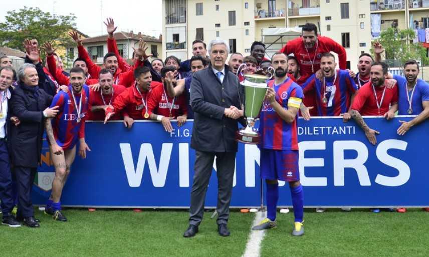 Calcio. Il Casarano vince la Coppa Italia Dilettanti