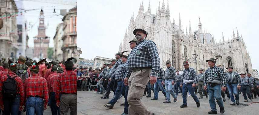 Adunata del centenario Alpini.  Gli applausi di Milano agli 80mila Alpini in sfilata