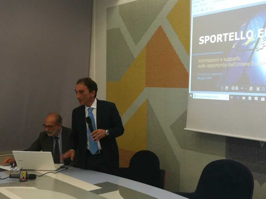 """Presidente Abramo: presentato """"Sportello Europa"""" per l'accesso ai finanziamenti dell'unione europea"""