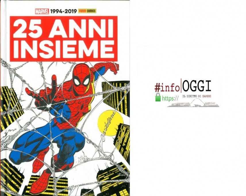 25 anni insieme a Marvel Italia e Panini Comics