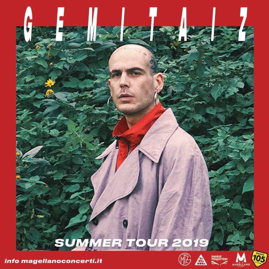 Summer Arena 2019, il 17 agosto arriva Gemitaiz