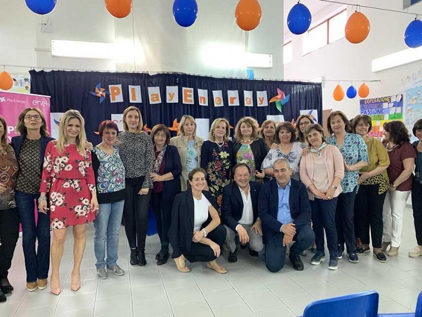 Catanzaro: la scuola primaria Fiume Neto vince il concorso Playenergy di ENEL