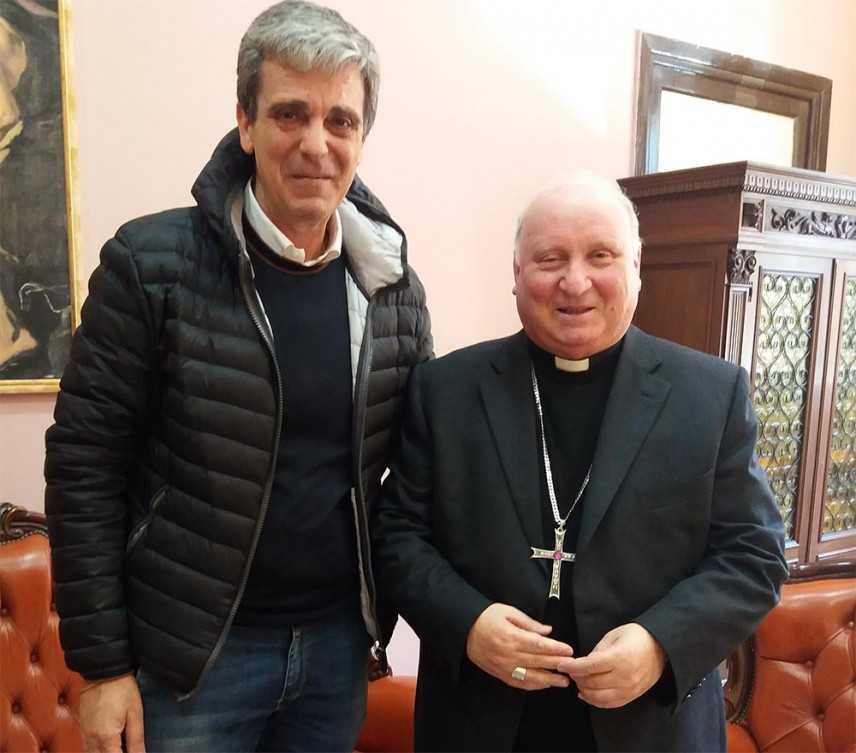 Mons. Bonanno ha incontrato il presidente del Forum Famiglie della Calabria Venditti
