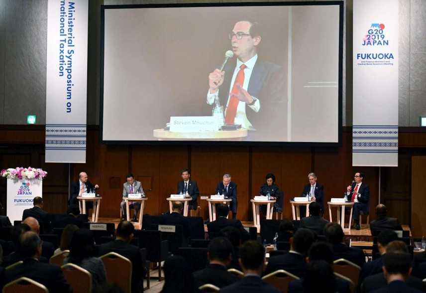 G20: Fukuoka, verso la stretta su tassazione colossi del web