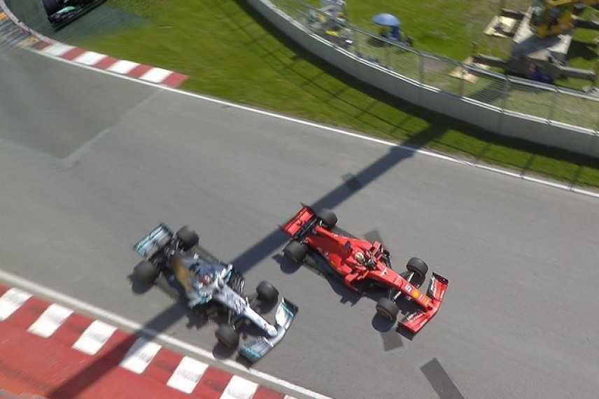 F1. Vettel taglia curva 5' secondi penalità i giudici regalano il primo posto a Hamilton