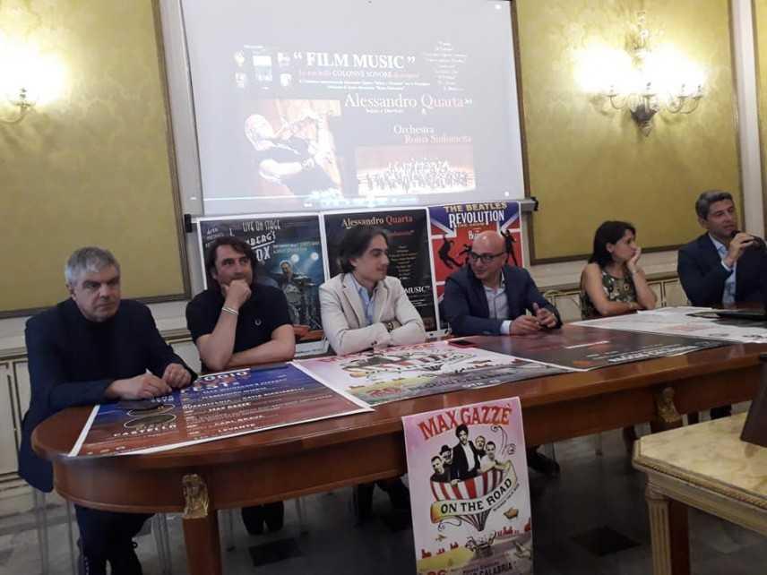 """Reggio Calabria: presentato dal sindaco Falcomatà """"l'Estate Reggina"""" ricco di stelle e grandi eventi"""