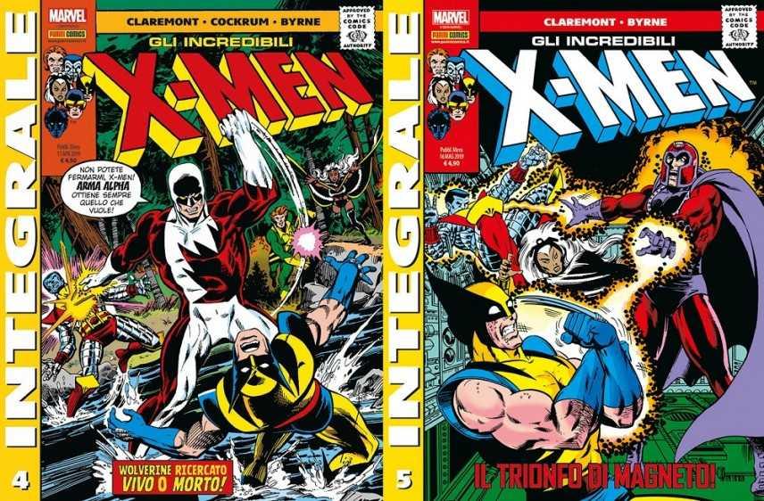 Un grande John Byrne sugli integrali X-Men n. 4 e 5