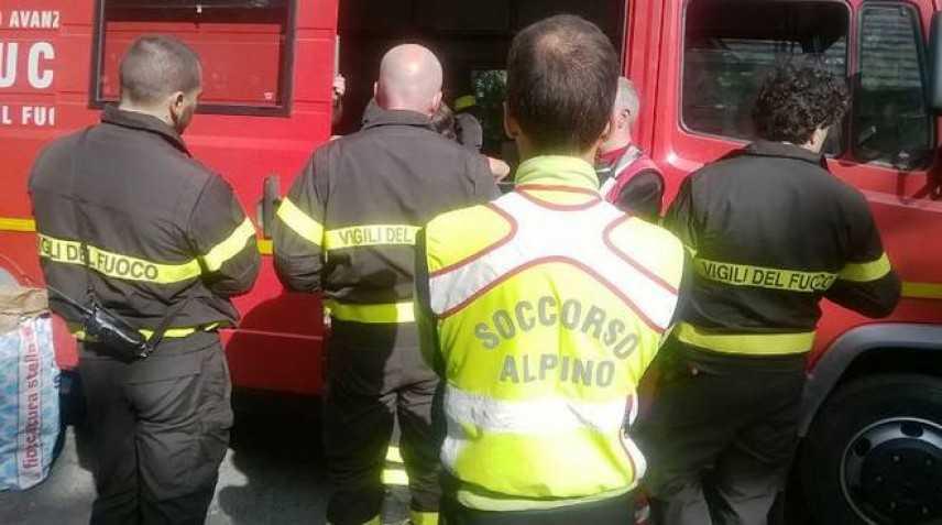 Maltempo: trovato morto il 65enne a Villarfocchiardo sul posto Alpini, VVF e CC