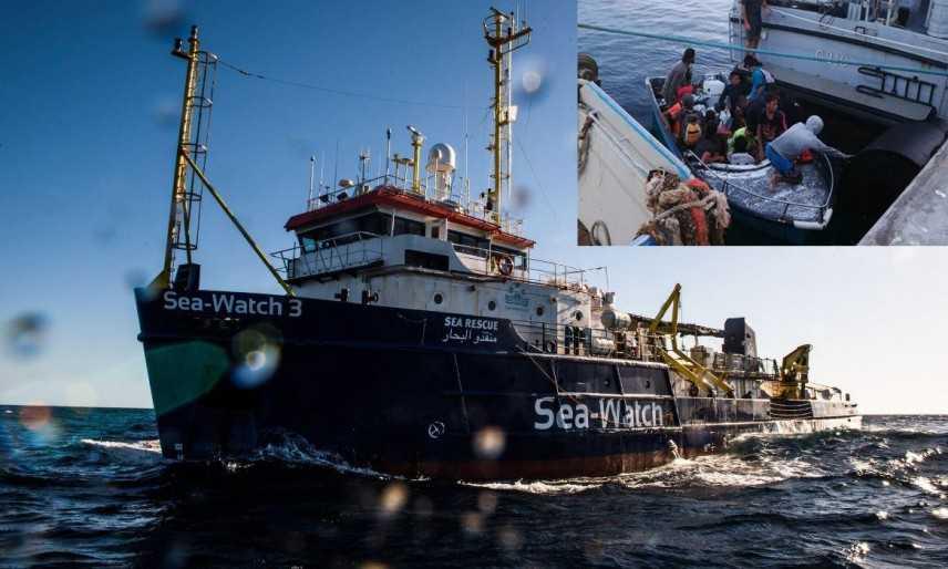 Migranti: in 10 su barchino approdano in porto a Lampedusa