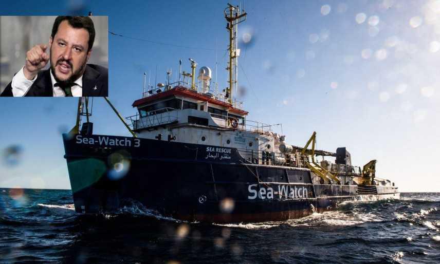Sea Watch: Salvini, fa battaglia politica su pelle 42 persone. Non assecondo chi aiuta scafisti