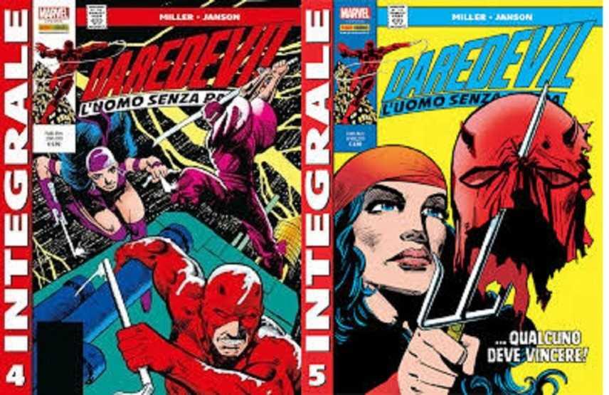 Su l'Integrale di Daredevil arrivano Elektra, Kingpin e...