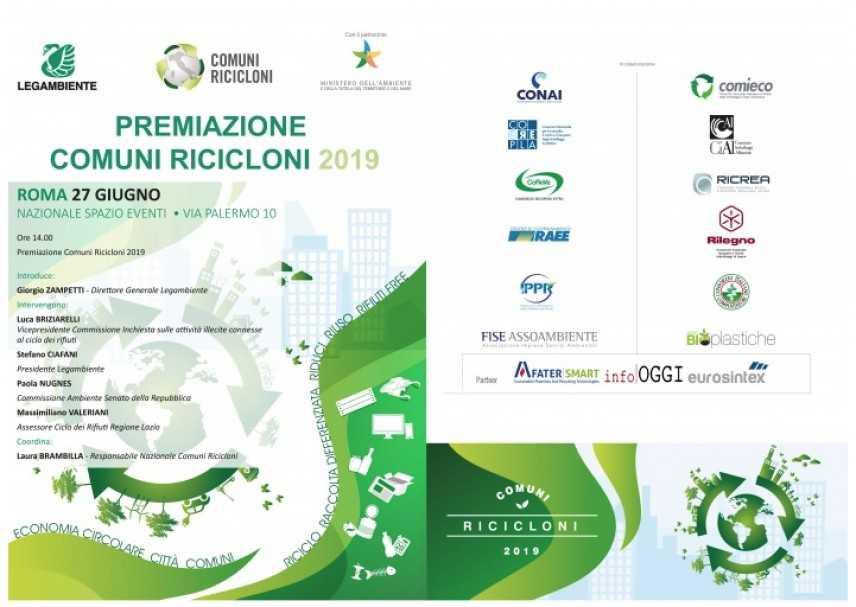 """""""Comuni Ricicloni"""" Premio Corepla al Comune di Catanzaro"""