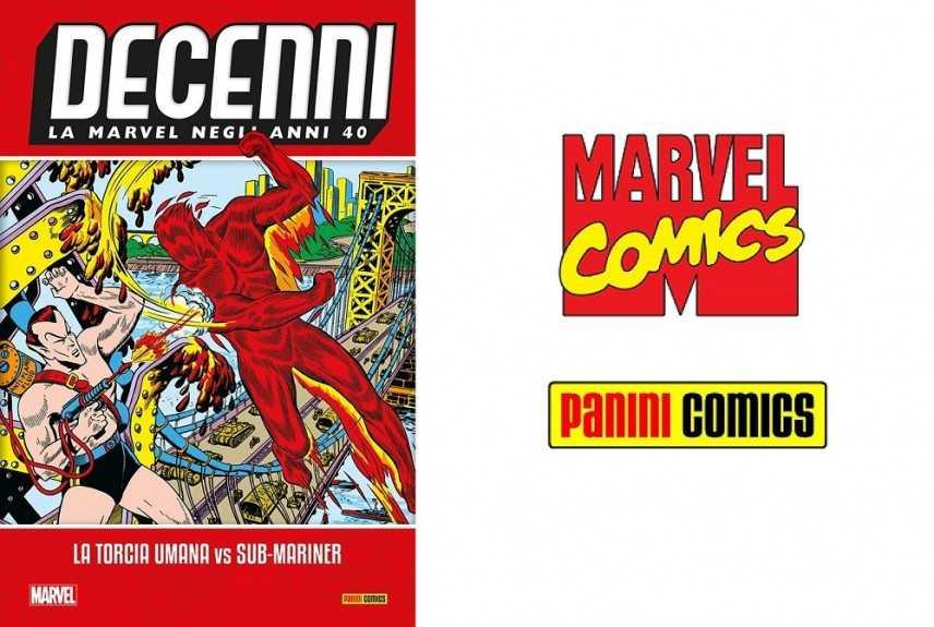 """Panini festeggia gli 80 anni Marvel con """"Decenni"""""""