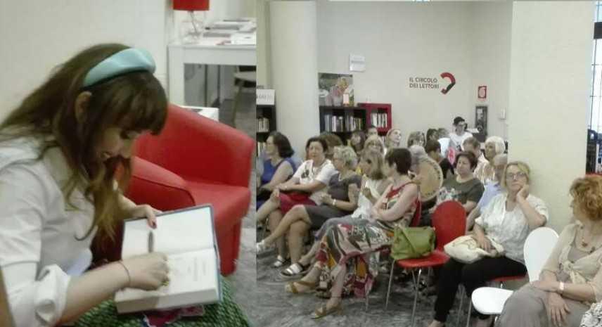 """A Novara la presentazione del nuovo libro di Chiara Francini dal titolo """"Un anno felice"""""""