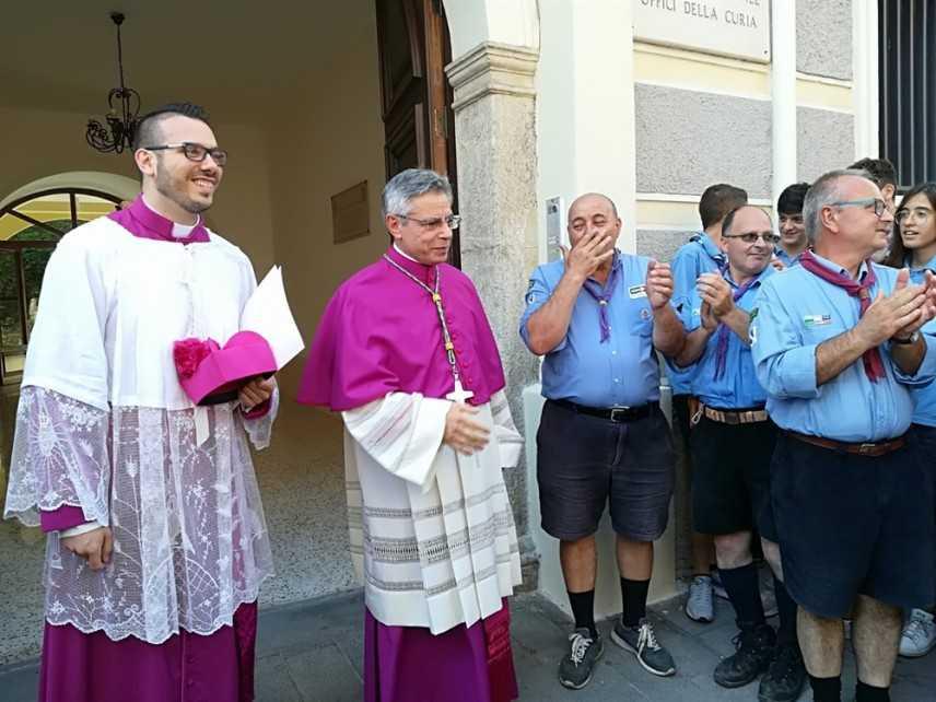 A Lamezia il primo giorno di episcopato del vescovo Mons. Giuseppe Schillaci