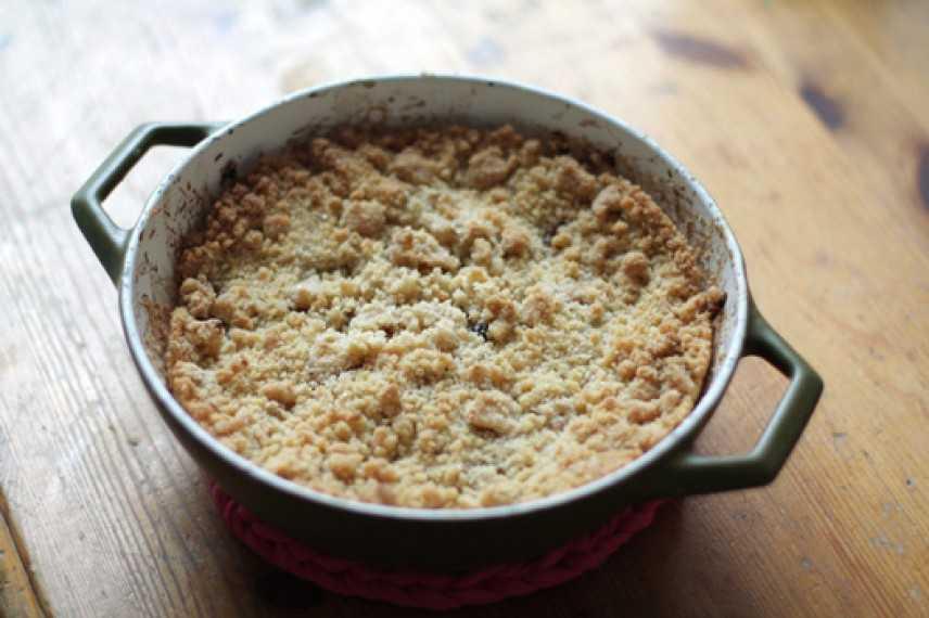 Come preparare il crumble di mele: la ricetta