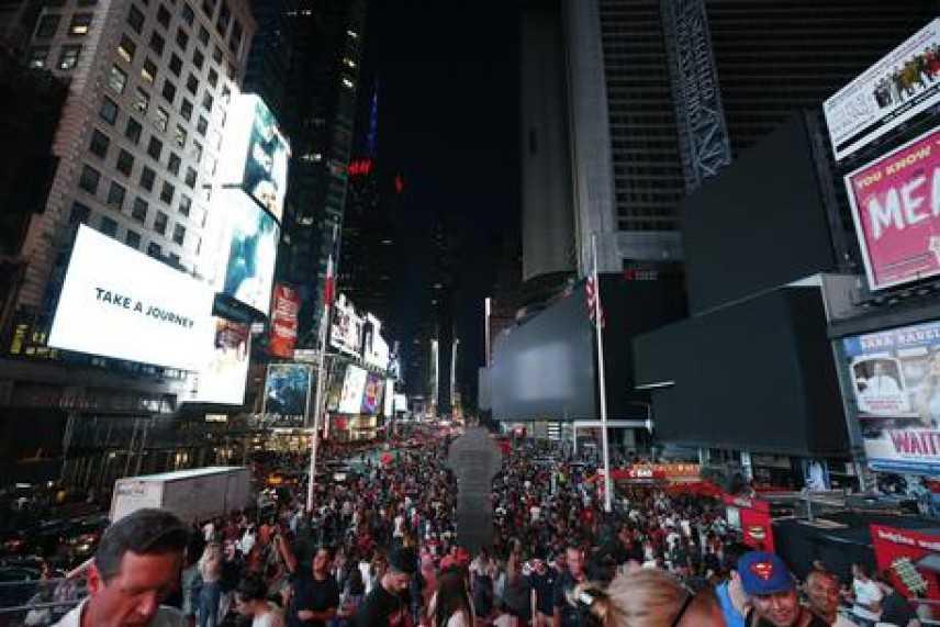 Blackout a New York, 72mila senza luce e metro in tilt